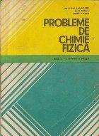 Probleme de chimie fizica