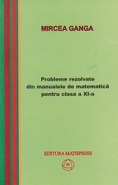 Probleme rezolvate din manualele de matematica pentru clasa a XI-a