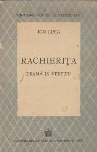 Rachierita - Drama in versuri