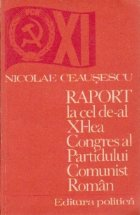 Raport la cel de-al XI-lea Congres al Partidului Comunist Roman