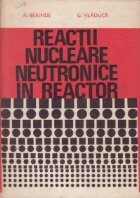 Reactii nucleare neutronice in reactor