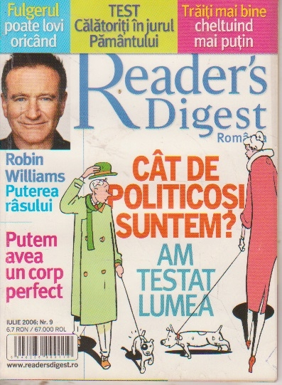 Reader s Digest, Iulie 2006