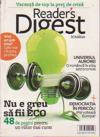 Reader s Digest, Iunie 2009