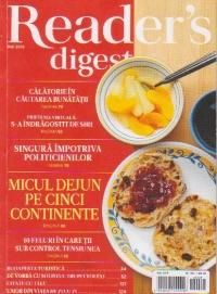 Readers Digest, Mai 2015 - Calatorie in cautarea bunatatii