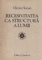 Recesivitatea ca structura a Lumii, Volumul al II-lea