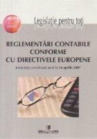 Reglementari contabile conforme cu directivele europene - Legislatie actualizata pana la 16 aprilie 2007
