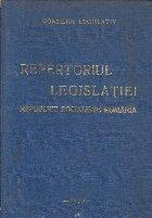Repertoriul Legislatiei Republicii Socialiste Romania (1976)