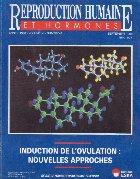 Reproduction humaine et hormones, Septembre 1998