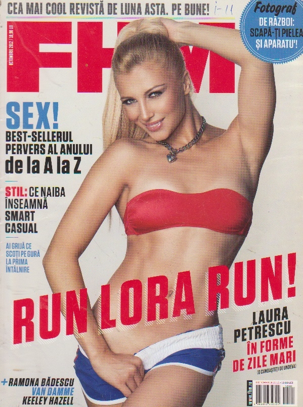 Revista FHM, Octombrie 2012