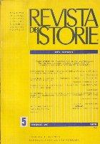 Revista de istorie, Tomul 29, Nr. 5, Mai 1976