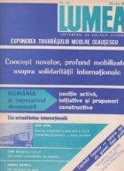 Revista Lumea, nr. 21 - 30/ 1988