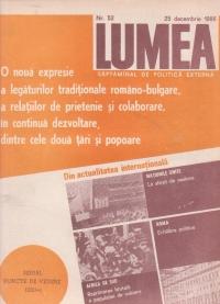 Revista Lumea, nr. 41- 52/1986