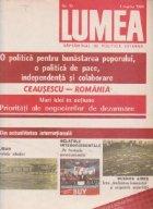 Revista Lumea, nr 1- 10/1984