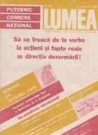 Revista Lumea, nr. 31 - 40/1986