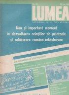 Revista Lumea, nr. 11 - 20/1987