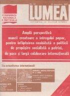 Revista Lumea 52/1987