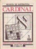 Revista de matematica Cardinal, Nr. 1/1990 (clasele I-XII)