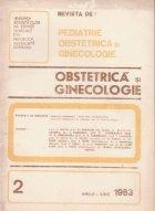 Revista Obstetrica Ginecologie Aprilie Iunie