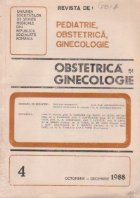 Revista de Obstetrica si Ginecologie, Octombrie-Decembrie, 1988