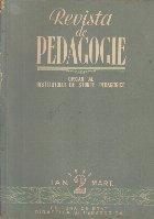 Revista de Pedagogie, Ianuarie-Martie, Nr. 3/1953