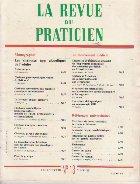 revue praticien Mai 1991