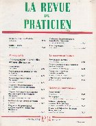 La revue du praticien, No 14, 11 Mai 1991