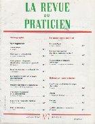 revue praticien Mars 1991