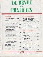 revue praticien Novembre 1990