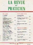 revue praticien Octobre 1990