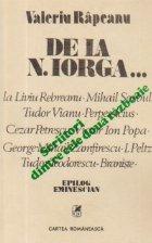 Scriitori dintre cele doua razboaie mondiale - De la N. Iorga...