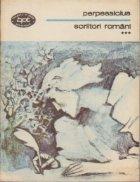 Scriitori romani, Volumul al III-lea