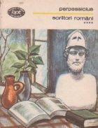 Scriitori romani, Volumul al IV-lea