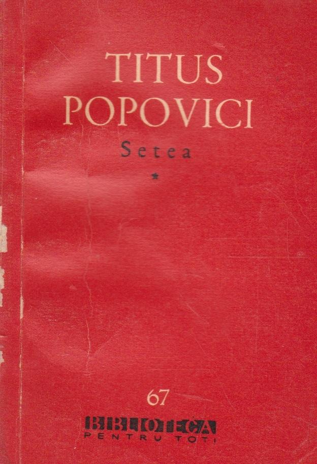 Setea, Volumele I si II