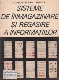Sisteme de inmagazinare si regasire a informatiilor
