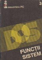 Sistemul de operare DOS* - Functii Sistem