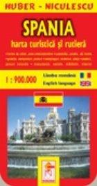Spania Harta turistica rutiera