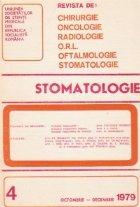 Stomatologia - Revista a societatii de stomatologie, Octombrie-Decembrie 1979