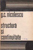 Structura si continuitate (Pagini de istorie literara)