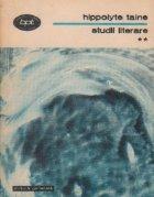 Studii literare, Volumul al II-lea