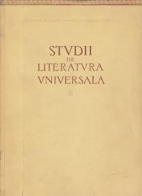Studii de literatura universala, Volumul al II-lea