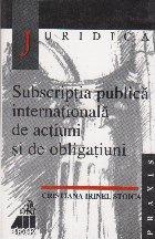 Subscriptia publica internationala actiuni obligatiuni