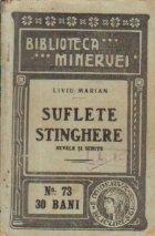 Suflete stinghere - Nuvele si schite (antebelica)