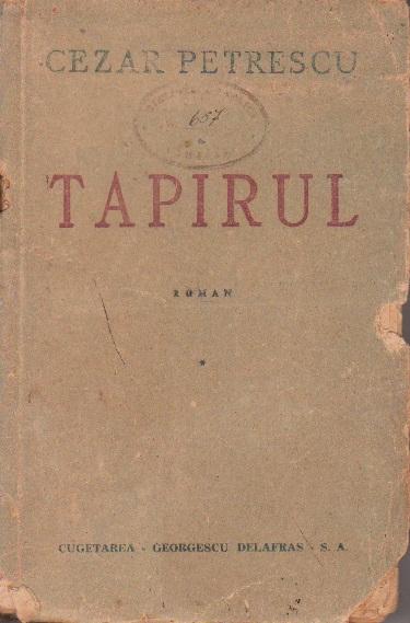 Tapirul, Volumul I