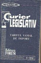 Tariful vamal de import - Index alfabetic
