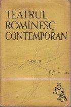 Teatrul Rominesc Contemporan, Volumul al II-lea