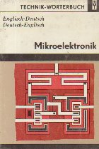 Technik-Worterbuch - Mikroelektronik (Englisch-Deutsch / Deutsch-English)