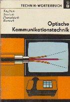 Technik Worterbuch Optische Kommunikations technik