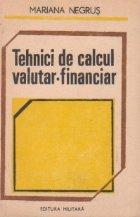 Tehnici de calcul valutar-financiar