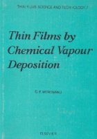 Thin films by chemical vapour deposition - Thin films science and technology