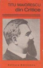 Titu Maiorescu - Din Critice